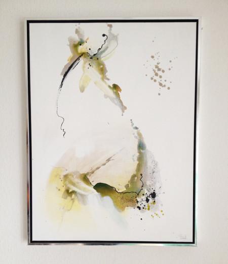 Gemälde Freja Mirror 5, 60x80 cm, inkl. Rahmen