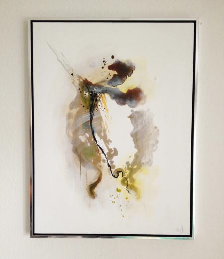 Gemälde Freja Mirror 4 inkl. Rahmen, 60x80 cm