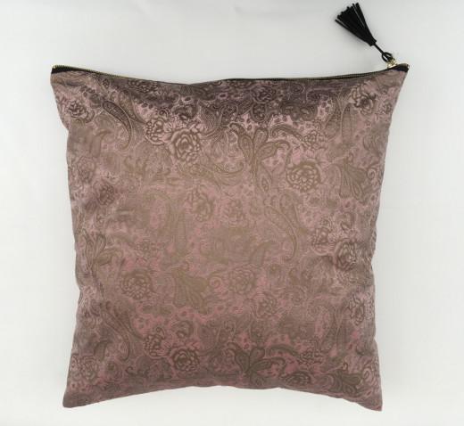 Kissenhülle AZAY 45x45cm Rosé