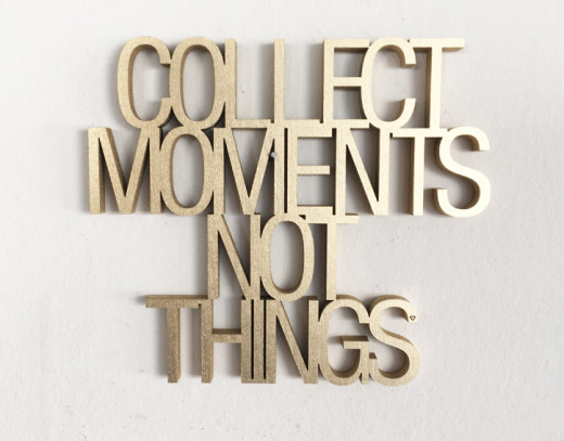 COLLECT MOMENTS... Gold 16x14cm