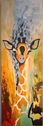 Gemälde, GIRAF TOUCH 2, Künstler GADE