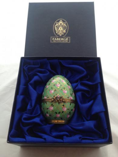 FABERGÉ, Imperial Easter Egg ROSE TRELLIS