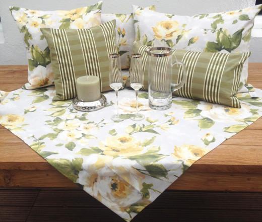 CLARA Tischläufer & Decken