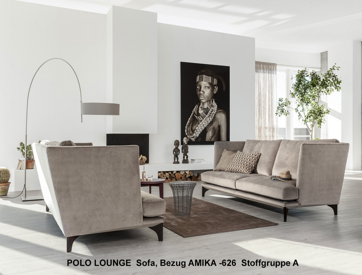 bielefelder werkst tten polo lounge sofa 235 cm. Black Bedroom Furniture Sets. Home Design Ideas