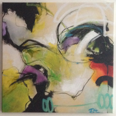 Gemälde Peter, Depeche 31, 70x70cm